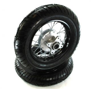 Motard Wheels Honda CRF50 XR50 Street Rims Wheels Tires 10 Inch