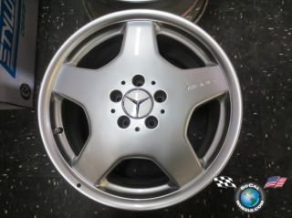 One 01 02 Mercedes AMG Factory 18 Wheel CL500 S430 S600 A2204010802