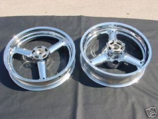 Suzuki GSXR 1300 Hayabusa GSXR1300R Chrome Wheels Rims