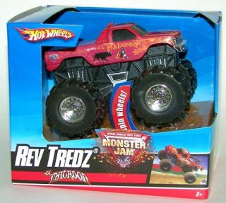 Hot Wheels Monster Jam Rev Tredz El Matador