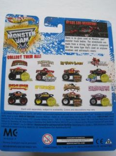 Hot Wheels Monster Jam Mud Truck Topps Trading Card 2012 1st Edd El