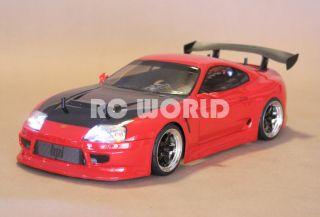 10 RC Toyota Supra Turbo Car Brushless RTR Brand New 40 MPH