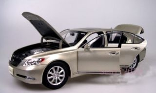 18 Lexus LS460 2010 Diecast Model by Norev Color Gold