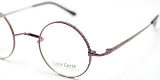 42 24 Luxury Titanium Round Harry Potter Vintage Coffee Eyeglass Frame