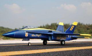 RC Jet FA 18 Blue Angel Brushless EDF Jet 2 4GHz Radio RTF