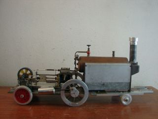 Large Vintage Custom Stuart Turner 504 Boiler Train Steam Engine Nice