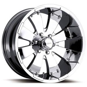 20 inch 20x9 Ultra Mako Chrome Wheel Rim 6x5 5 Sedona GX470 GX460