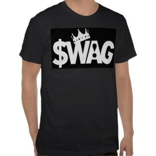 King of Swag (black) T Shirts