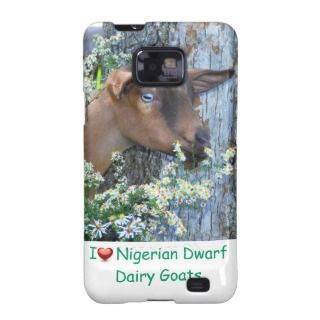 Nigerian Dwarf Goat case Samsung Galaxy S Case