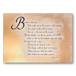 Encouragement & Inspirational Bible Verse Cards Business Card Template