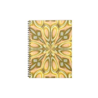 Golden Crazy Daisy Note Books