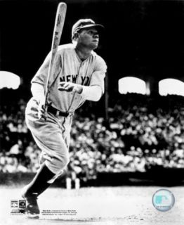 Babe Ruth   Batting Action Photograph