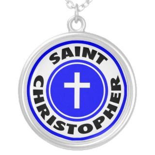 Saint Christopher Personalized Necklace