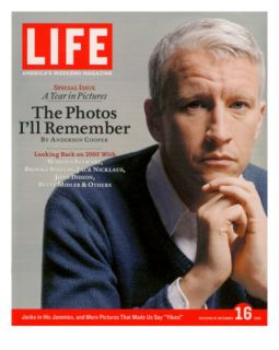 News Anchor Anderson Cooper, December 16, 2005 Premium Photographic Print by Koto Bolofo