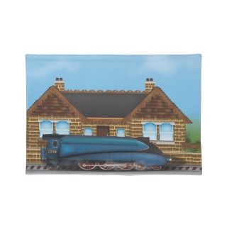 Steam Engine Placemats