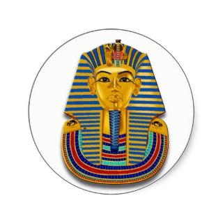 King Tut Mask Stickers