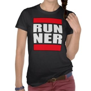 womens ladies girls Run Runner Running t shirt