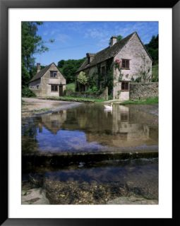 The Ford, Duntisbourne Leer, Gloucestershire, the Cotswolds, England, United Kingdom Pre made Frame