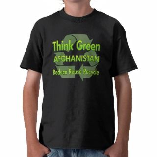 Think Green Afghanistan Tees