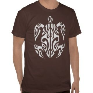 TRIBAL TURTLE TSHIRT