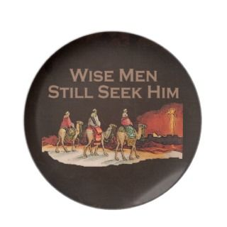 Wise Men Still Seek Him, Christmas Plate