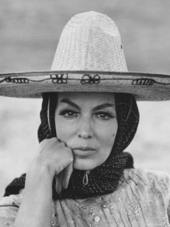 Mexican Actress Maria Felix on Set New Picture Juana Gallo Premium Photographic Print by Allan Grant