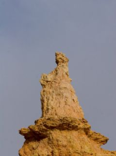 A Rock Formation in the Shape of Queen Victoria in Bryce Canyon, National Park, Utah Photographic Print by Taylor S. Kennedy