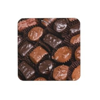 Box of Chocolate Candy Coasters