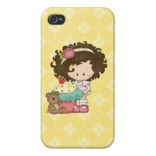 Rag Doll Cupcake iPhone4 Savvy Glossy case iPhone 4 Cases