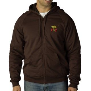 Physical Therapy Embroidered Hooded Sweatshirt