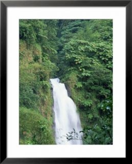 Trafalgar Falls, Roseau Region, Island of Dominica, West Indies, Caribbean, Central America Pre made Frame