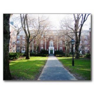 Harvard Business School postcard