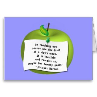 customizable background colour. Quote reads In teaching you cannot