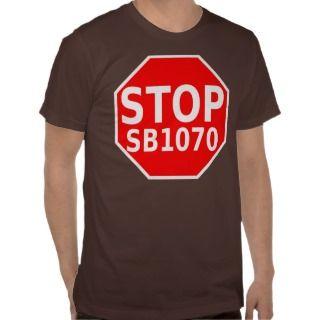 Stop SB1070 T Shirt