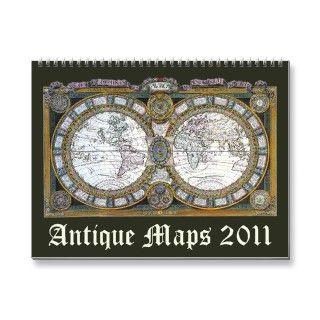 Antique Maps 2011 Calendar