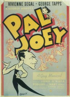 Pal Joey   Broadway Poster , 1940 Masterprint