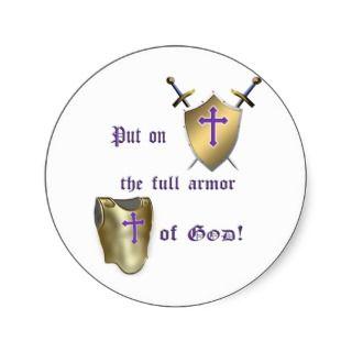 Full Armor of God Sticker