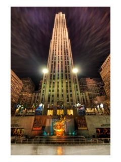 Ice Skating at Rockefeller Center Premium Photographic Print by Trey Ratcliff