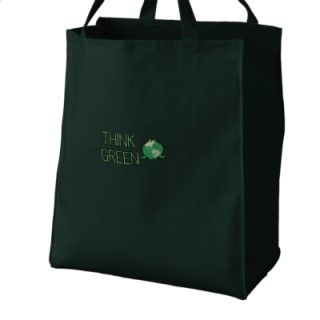 Earth Day Green Frog Recycle Environmental Canvas Bags