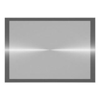 Shiny Like Steel Metal Background Template Custom Invitations
