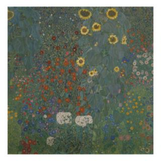 Farm Garden with Sunflowers, 1905/06 Giclee Print by Gustav Klimt
