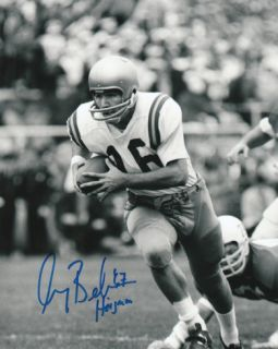 Gary Beban UCLA Bruins with 67 Heisman Inscription Photograph