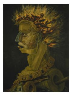 The Fire, 1566 Giclee Print by Giuseppe Arcimboldo