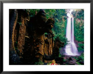 Air Terjun Gitgit Waterfall Near Lovina, Lovina, Indonesia Pre made Frame
