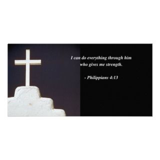 PHILIPPIANS 413 Bible Verse Photo Card Template