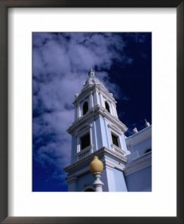 Bell Towers of Catedral Nuestra Senora De Guadelupe, Ponce, Puerto Rico Pre made Frame