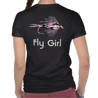 Pink Camouflage fly fishing lures Shirt
