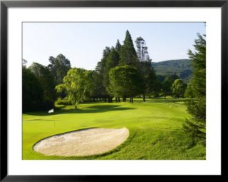 2nd Hole at Boschoek Golf Course, Kwazulu Natal, South Africa Pre made Frame