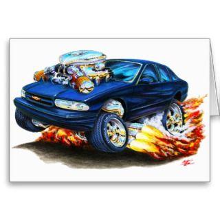 1994 96 Impala Black Car Cards