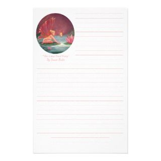 Fairy Stationery   The Lotus Pond Fairy